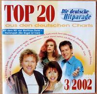 Top 20 3/2002 aus den deutschen Charts - Kim Fischer, Matthias Reim u.a. - CD