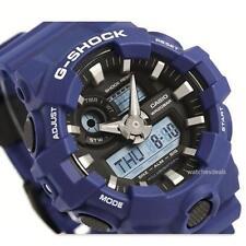 CASIO G-SHOCK, GA700-2A GA-700-2A, ANALOG DIGITAL, BLUE x BLACK, MATTE, BIG CASE