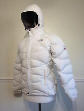 THE NORTH FACE SUMMIT SERIES 700 WINDSTOPPER IVORY PADDED GOOSE DOWN COAT  S