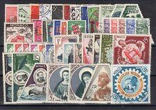 MONACO: ANNEES COMPLETES 1954 et 1955 DE 44 TIMBRES OBLIT N°397/440 C: 180,00€