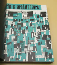 Original Arts & Architecture Magazines Bound Volume January to December 1948