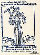SAINT FRANCOIS D ASSISE  FRANCE Document Philatélique Officiel 0682