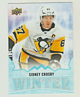 2019-20 Upper Deck Singles Day WINTER #W15 SIDNEY CROSBY Penguins QTY AVAILABLE