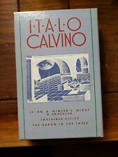 Italo Calvino Box Set (1970s PB) Winter's Night Invisible Cities Baron Trees