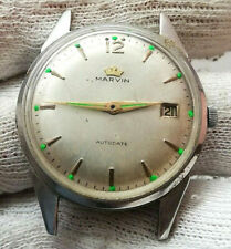 MARVIN AUTODATE  OLD  Mechanical AUTOMATIC  WRIST Watch  SWISS MADE - FOR REPAIR