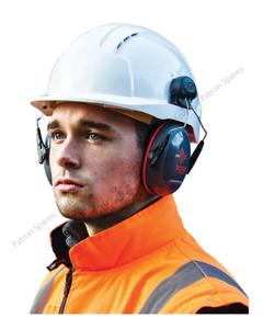 JSP Sonis Compact Helmet Mounted Ear Defender SNR 31dB