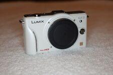 Panasonic LUMIX DMC-GF2 12.1MP Digital Camera - White (Body Only), 1080p video