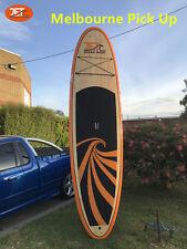 Jetocean 10' SUP Stand Up Paddle Board Surfboard Longboard Bamboo Veneer