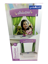 """Brand new in box Guidecraft """"Showtime"""" tabletop theater in white."""