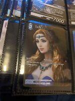 Sara - Opus X/10 Foil - 10-112H Hero - FFTCG Final Fantasy Trading Card Full Art