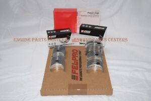 Chevy/GMC/Hummer 6.5 6.5L Engine Rering Kit Piston Rings+Bearings+Gaskets 94-96