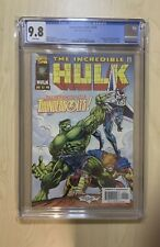 incredible hulk 449 cgc 9.8 First App of Thunderbolts! Marvel Comic Key 🔑 Issue