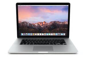 "Apple MacBook Pro Retina 15"" i7 2GHz 8GB 256GB SSD OSX Big Sur/ Late 2013/ref915"