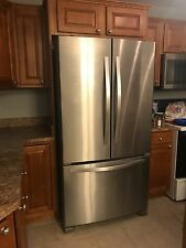 Whirlpool stainless steel refridgerator with French doors