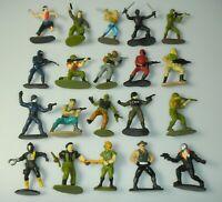 Lot of 20 1988 1989 GI Joe Cobra Mini Micro Figures Figurine Insert Complete Set
