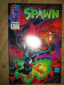 SPAWN # 1 1st APPEARANCE SAM TWITCH TODD McFARLANE $1.95 1992 IMAGE COMIC BOOK