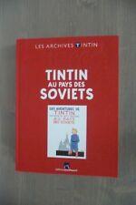LES ARCHIVES TINTIN - HERGE - TINTIN au PAYS des SOVIETS - TBE