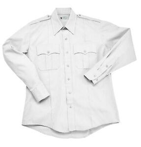 Liberty Uniform Men's Long Sleeve Police / Guard Shirt | Stain Repellent