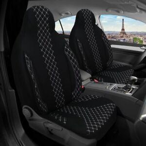 2x Maß Sitzbezüge Schonbezüge für Renault Twingo 3. Gen. PL408