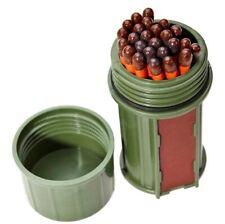 UCO Stormproof Match Kit Green Matchbox w/25 Waterproof Long Burn Matches/Case