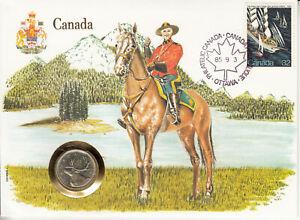 Numisbrief - International - Amerika - Kanada - 1985