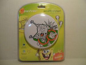 Nickelodeon Sponge Bob Portable CD Player - Brand New - Free Shipping!