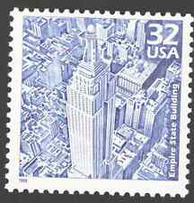 US. 3185 b. 32c. The Empire State Building. Celebrate The Century. 1998