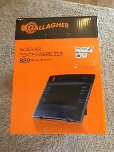 Gallagher S20 Super Charger / Energizer  Electric Fence