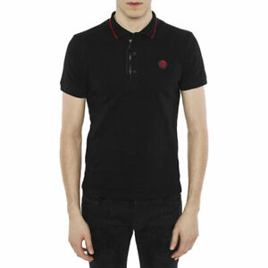 DIESEL DV POLO RE CAMICIA Mens Polo T Shirt Short Sleeve Slim Summer Golf Tees