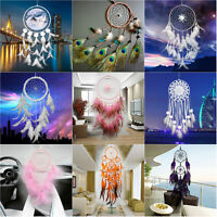 Dream Catcher Feathers Car or Room Wall Hanging Decor Ornament-Wolf Dreamcatcher