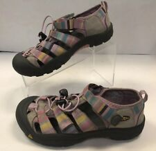 KEEN Womens Sandals Size 5 Bumper Toe Pastel Pink Tan Multicolor