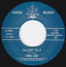 NEW REPRO Wild Rockabilly Rocker -CHRIS CERF- FALLOUT FILLY/ THE PENGUIN-VANITAS