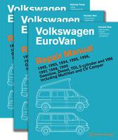 Eurovan Repair Shop Manual Service 1992-1999 Gasoline Diesel Tdi Set Volkswagen