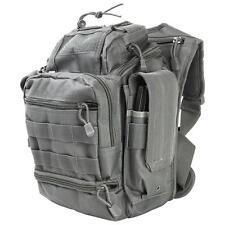 First Responder Tactical Utility Bag EDC Pack Survival Shoulder Go Bag Black.