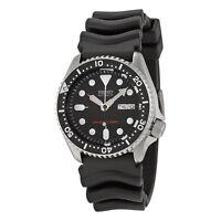 Seiko SKX007 Automatic Black Dial Rubber Strap Men's 200m Scuba Divers Watch