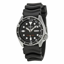 Seiko SKX007 Automatic Black Dial Rubber Strap Men's 200m Scuba Divers Watch