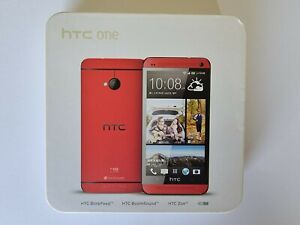 HTC One M7 801s Red 32GB