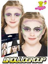 Truccabimbi Make Up Carnevale Halloween kit colori viso strega accessori *18725