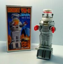 1985 Masudaya Lost in Space Robot Ym-3 B-9 Wind Up Japanese Toy Figure New 80s