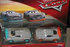 "DISNEY PIXAR CARS 3 ""2 PACK GABRIEL AND AIDEN"" NEW IN PACKAGE, SHIP WW"