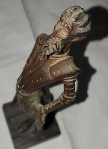 Vintage DON Quixote Wood carved  Carving figure