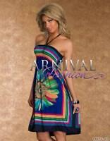 WOMEN SUMMER DRESS SHORT CASUAL AU BEACH SUNDRESS LOOSE sexy sleeveless evening