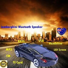 bluetooth speaker FM MP3 Wireless Car Model Outdoor Party for Man Gift