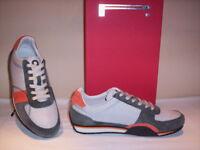 Scarpe sportive basse sneakers Pirelli Prescott uomo casual grigie 39 40 41 42