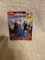 Frozen II 4K UHD/Blu-ray Disc/digital 2020, 2-Disc Set Brand New