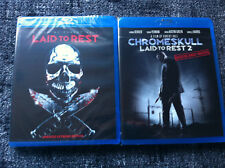 LAID TO REST 1 & 2 - UNRATED EXTREME VERSION - BLU RAY Region B/UK - 2 DISCS