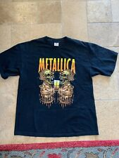 METALLICA Vintage T Shirt TOUR Concert 2000 PUSHEAD Summer Sanitarium XL Cities
