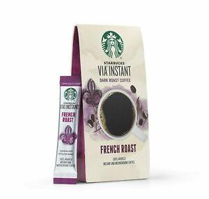 168 Starbucks Via Instant, italian coffee Blend  - 17 Boxes