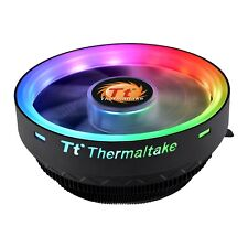 ThermalTake UX100 ARGB CPU Cooler, 120mm ARGB LED Fan,1800rpm, 38.82 CFM, PWM