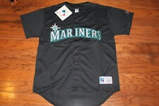 Seattle Mariners Alternate Black Jersey w/Tags  Size M (Adult)